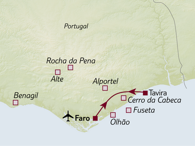 Bus-/Wanderreise Wanderhighlights der Algarve