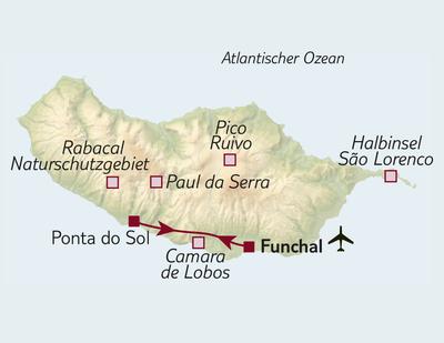 Bus-/Wanderreise Madeira gemütlich erwandern