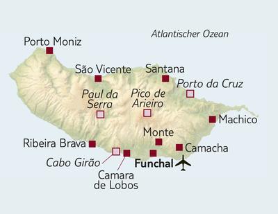 Standortreise Erlebniswoche Madeira