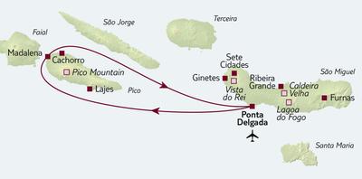 TUI Tours: Busreise São Miguel & Pico kulinarisch entdecken