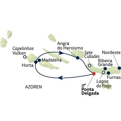 Busreise Best of Azoren