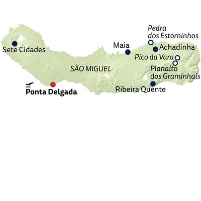 Wanderreise São Miguels Highlights erwandern