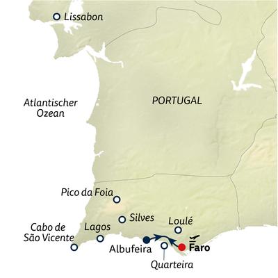 Standortreise Erlebniswoche Algarve