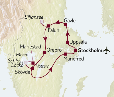 Autoreise Schweden zum Kennenlernen