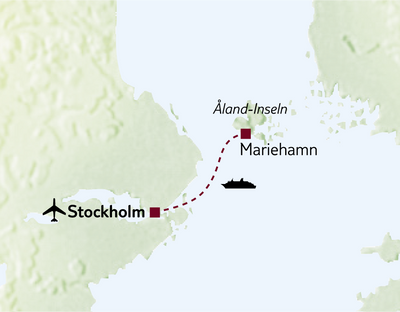 Standortreise Alands Inselidylle & Stockholm