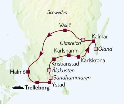 Autoreise Südschweden & Schärenzauber