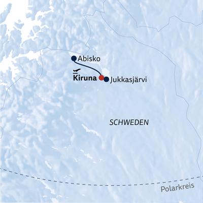 Aktivreise Winterwunder Schwedisch Lappland