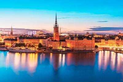 Bahnreise Von Stockholm bis zur Mitternachtssonne