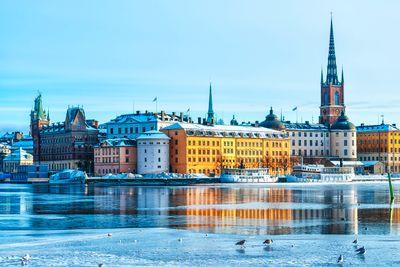 Bahnreise Von Stockholm bis zum Polarkreis