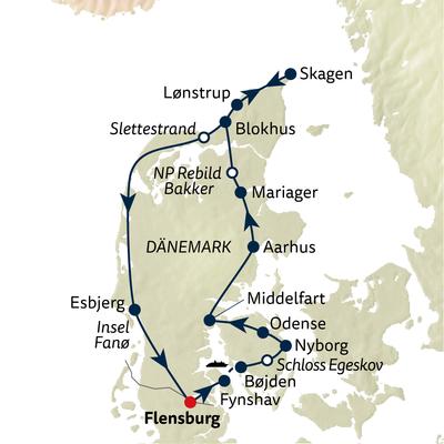 Autoreise Hyggeliges Dänemark