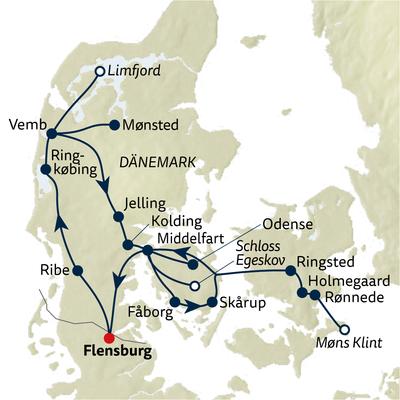 Autoreise Dänemarks Schlösser & Herrenhäuser
