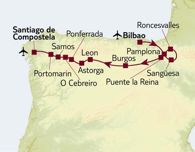 Busreise Entdeckungen in Nordspanien