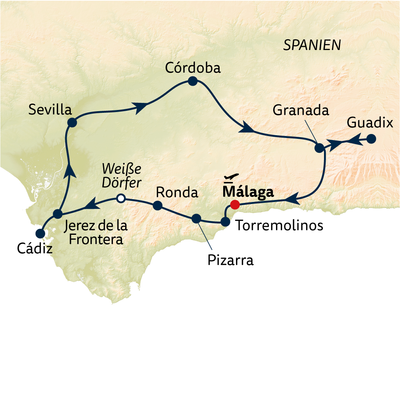 Busreise Auf den Spuren der Mauren