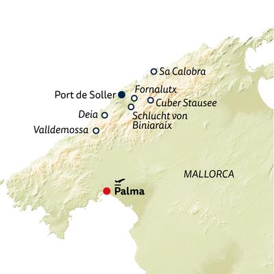 Wanderreise Mallorcas Highlights erwandern