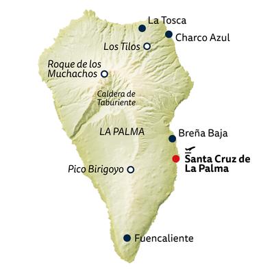 Wanderreise La Palma - die schöne Insel erwandern