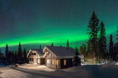 Standortreise Ferienhaus-Urlaub in Lappland