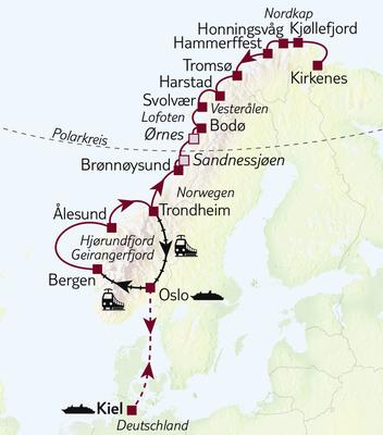 Karte_FINAL_RR20-NOR560022-Norwegen-Hurtigruten-Die-große-Norwegen-Panorama-Reise-S-080_01